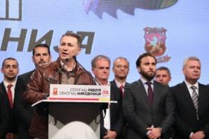 Груевски  Најниски даноци во светот  поголеми плати  пензии  субвенции