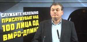 Андонов  МВР призна дека го прислушкува врвот на ВМРО ДПМНЕ