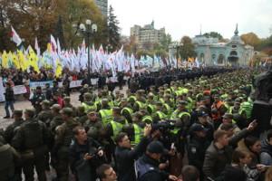 Украинските демонстранти бараат интензивирање на борбата против корупцијата