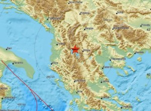 Послаб земјотрес во Охрид