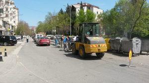 Променет сообраќаен режим поради асфалтирање на  Втора Македонска Бригада