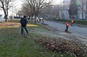 Во Бутел започна големата акција за чистење на улиците во Скопје