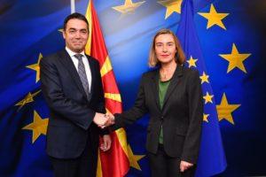 Втор ден од работната посета на Брисел на Димитров и Османи