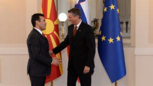 Средба Заев   Пахор   Брглез  Македонија и Словенија се пример за пријателски земји