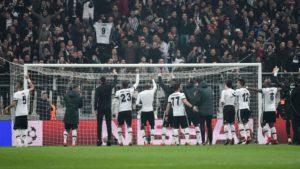 Бешикташ се пласираше во осминафиналето од Лигата на Шампионите