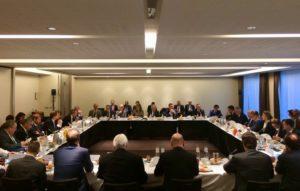 Димитров и Османи на работен појадок со министри за надворешни работи на земјите членки на ЕУ