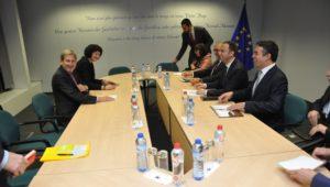 Османи и Димитров на средба со Хан  Македонија очекува позитивен извештај и чиста препорака од ЕК