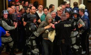Спасувачот на Села   На 27 април во Собранието се бараше шиптарска крв
