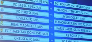 ПСЖ   Реал  Челзи   Барселона во осминафиналето од ЛШ