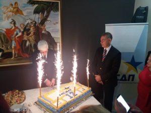 НСДП слави 12 години од основањето на партијата