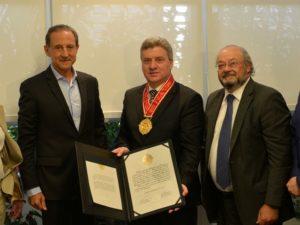 Средба на претседателот Иванов со д р Пауло Скаф  претседател на Федерацијата на индустрии на Сао Паоло