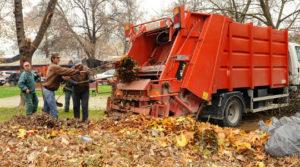 Акција за расчистување на отпадот во општина Карпош