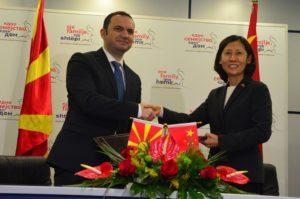 Османи  Финансиската поддршка од Кина е дел од севкупните добри односи меѓу двете земји