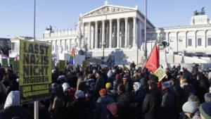 Протести против новата влада во Виена