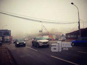 12 сообраќајки вчера во Скопје