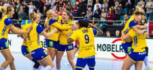 Шведска против Данска во скандинавско четвртфинале на ракометниот Мундијал