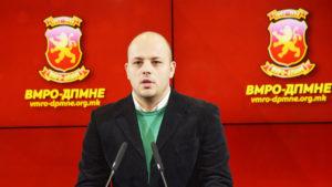 Костовски  СДСМ донесе неуставен закон за двојазичност со кој се деградира употребата на македонскиот јазик