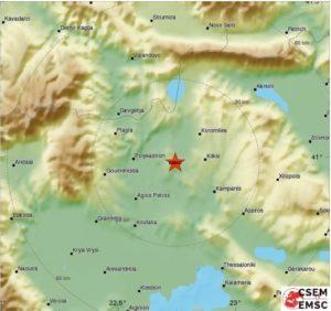 Слаб земјотрес во дојранскиот регион