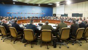 Началникот на ГШ на АРМ  Величковски на заседание на воениот комитет на НАТО