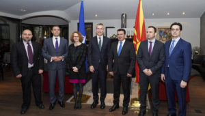 Столтенберг пристигна во Скопје