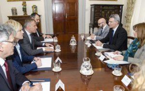 Министерот Адеми во Малта го потврдува пријателството помеѓу двете земји