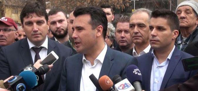 Заев: Достоинството и идентитетот се многу важни во преговорите со Грција