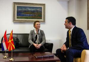 Димитров Пејчиновиќ Буриќ  Хрватска ја поддржува Македонија на патот кон ЕУ и НАТО