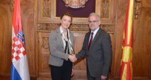 Џафери Пејчиновиќ Буриќ  Членство во НАТО и ЕУ значи градење на стабилна држава