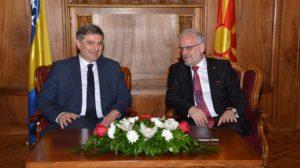 Џафери Звиздиќ  Односите меѓу Македонија и БиХ бележат постојан прогрес