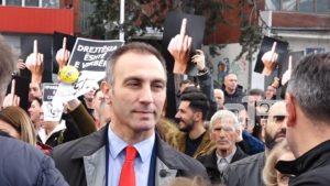 ДУИ го поддржа протестот за Алмир