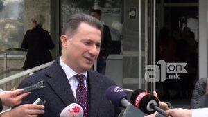 Груевски  Ретко се гледам со Мицкоски  тој самостојно ја води партијата