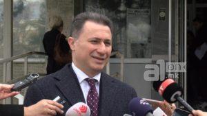 Груевски  СЈО е забегано  ова стана театар на апсурдот