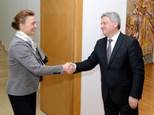 Иванов се сретна со заменик претседателот на хрватската Влада  Пејчиновиќ Буриќ