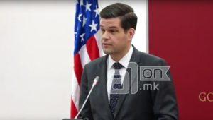 Мичел  САД и понатаму ќе се ангажираат за влез на Македонија во ЕУ и НАТО