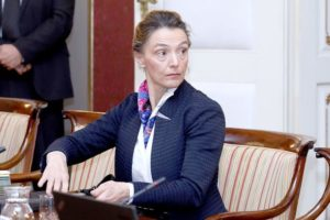 Шефицата на хрватската дипломатија Пејчиновиќ Буриќ во Македонија