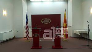 ВО ЖИВО  Прес конференција на Зоран Заев и Вес Мичел