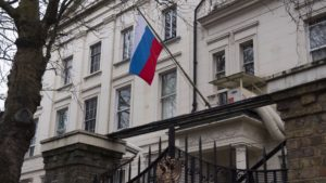 Руска амбасада  Протерувањето дипломати е непријателски чин