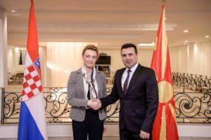 Заев Пејчиновиќ Буриќ  Охрабруваат позитивниот реформски дух и чекорите на добрососедство