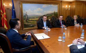 Заев Марфи  Македонија се движи во правилната насока во остварувањето на стратешките цели НАТО и ЕУ
