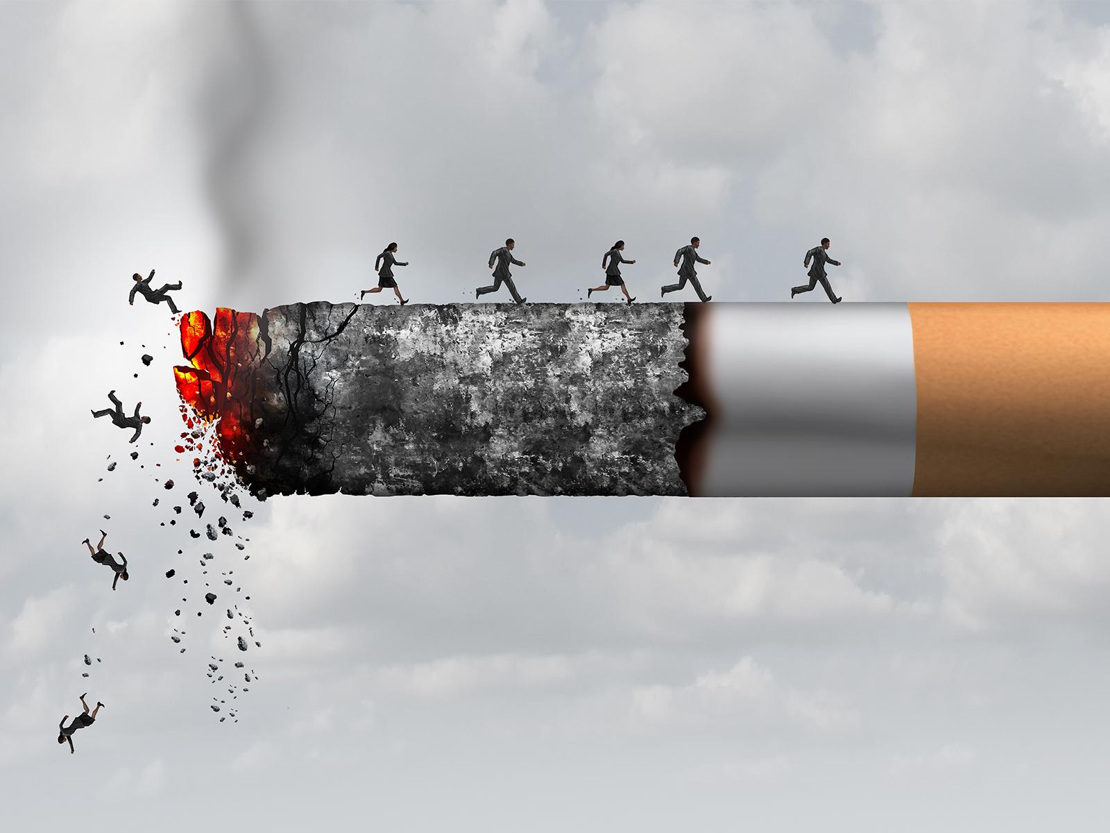 hagyja abba a dohányzást és a szemet