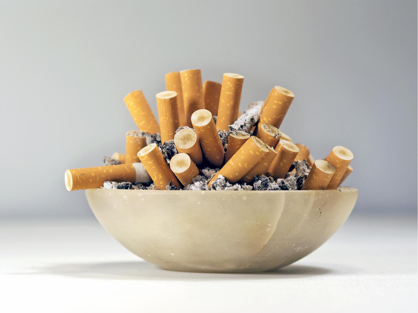 hagyja abba a cigarettázást is