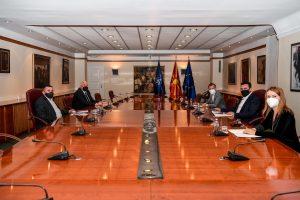 Заев се сретна со претставници на Македонската горанска заедница на Косово