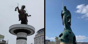 ВИДЕО: Стефан Немања против Александар Велики – ќе го следи ли Белград примерот на Скопје 2014?