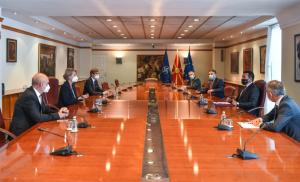 Средба Заев – Ајкхорст: Со Бугарија ќе продолжиме да бараме европско решение што ќе овозможи двојна победа